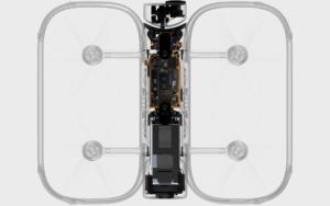 Sezione dello Skydio R1 che permette di vedere la sua tecnologia.