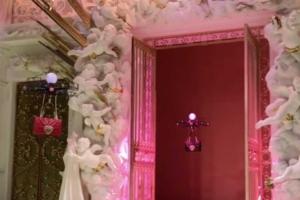 Droni Dolce & Gabbana in passerella a milano collezione autunno/inverno 2018/2019 25 febbraio 2018