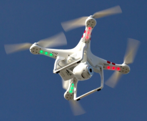 Un Drone come quelli che utilizzerà Ca' Foscari
